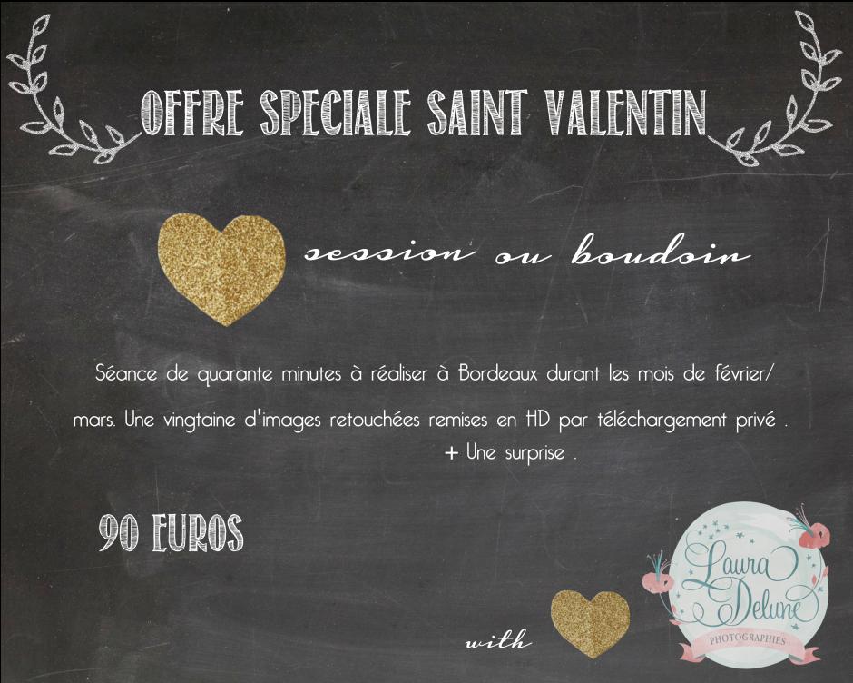 Offre Saint Valentin Bordeaux